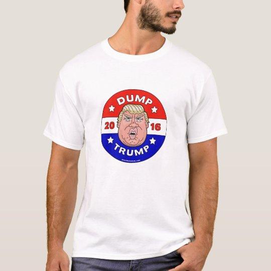 Dump Trump, Anti Donald Trump T-Shirt