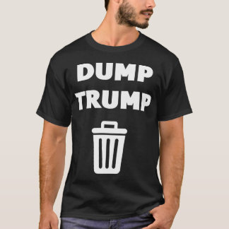 Dump Trump Black T-Shirt