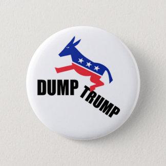 Dump Trump Dems 6 Cm Round Badge