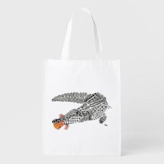 dump trump reusable grocery bag