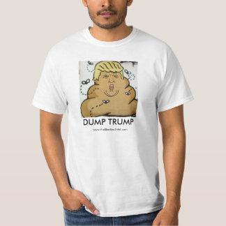 Dump Trump - The fecal matter of poltics Tee Shirt