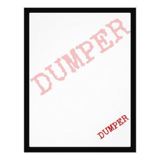 DUMPER FLYERS