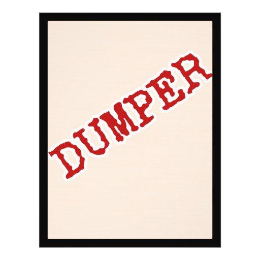 DUMPER CUSTOM FLYER