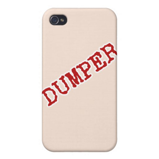 DUMPER COVERS FOR iPhone 4