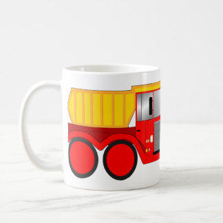Dumper truck coffee mug