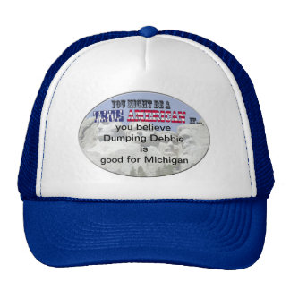 dumping debbie mesh hats