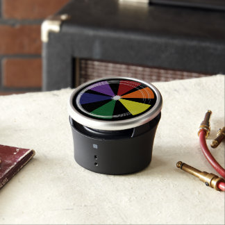 Dumpster Speaker PRIDE COLOR WHEEL