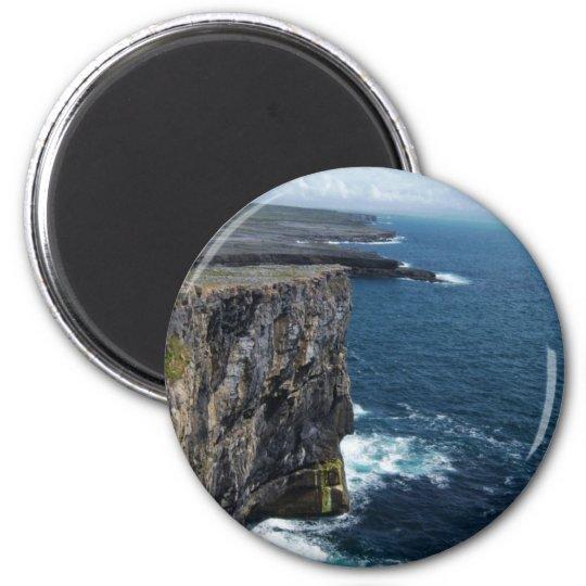 Dún Aonghasa 6 Cm Round Magnet