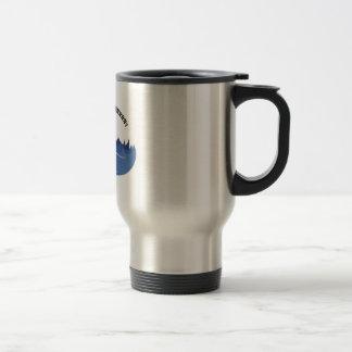 Dun Dun Duhhh! 15 Oz Stainless Steel Travel Mug