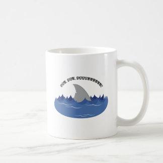 Dun Dun Duhhh! Classic White Coffee Mug
