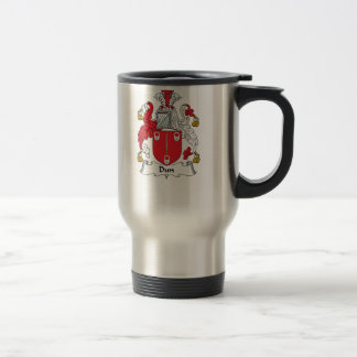 Dun Family Crest 15 Oz Stainless Steel Travel Mug