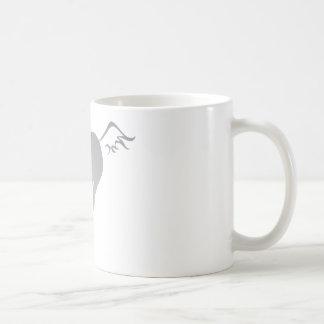Dun Horse Classic White Coffee Mug