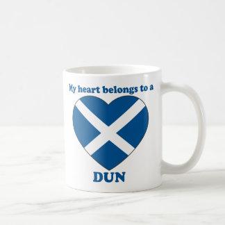 Dun Basic White Mug