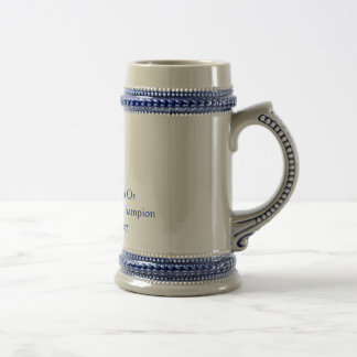 Dun Or Heavy Weapons Champion Beer Stein
