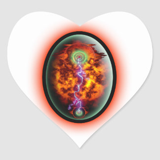 Dunamis Heart Sticker