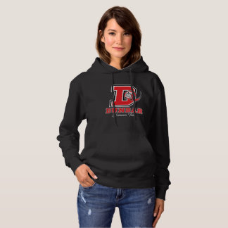 Dunbar Crimson Tide Women's Hooded Sweatshirt