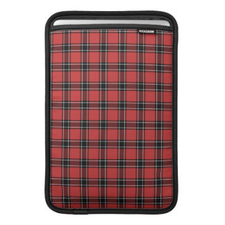 Dunbar Scotland District Tartan Sleeves For MacBook Air