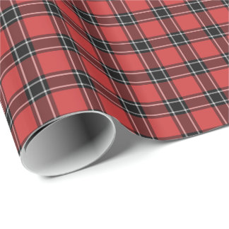 Dunbar Scotland District Tartan Gift Wrap Paper