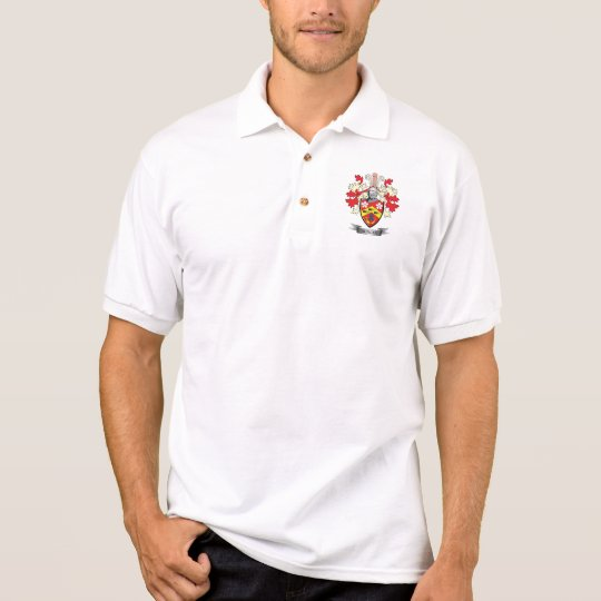 Duncan Family Crest Coat of Arms Polo Shirt