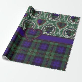 Dundas clan Plaid Scottish tartan Wrapping Paper