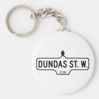 Dundas Street West, Toronto Street Sign Keychain