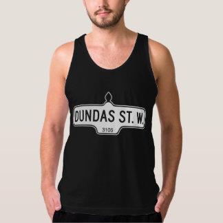 Dundas Street West, Toronto Street Sign Tank Top
