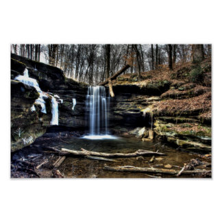 Dundee Falls, Ohio Poster