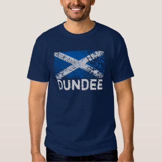 Dundee + Grunge Scottish Flag Tee Shirts