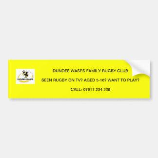 Dundee Wasps Bumper Sticker