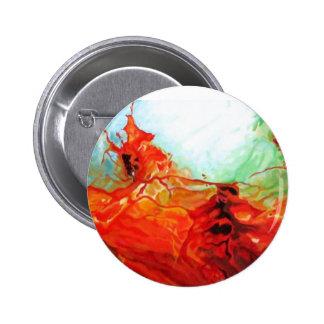 Dune Art - Original Abstract Art Decorative Modern 6 Cm Round Badge