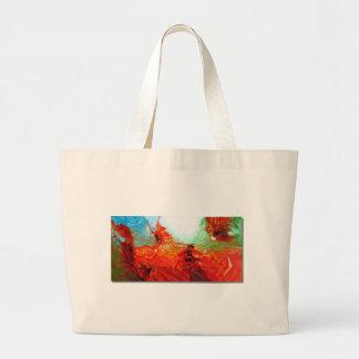 Dune Art - Original Abstract Art Decorative Modern Jumbo Tote Bag