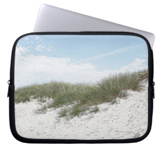 Dune at a beach in scandinavia. laptop sleeve