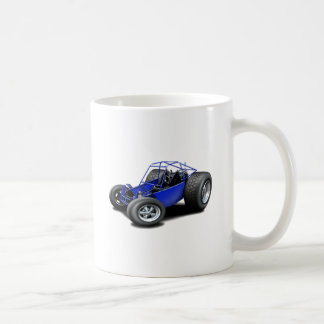 Dune Buggy blue Basic White Mug