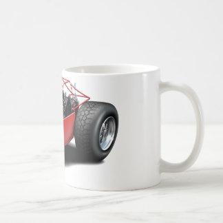 Dune Buggy red Basic White Mug