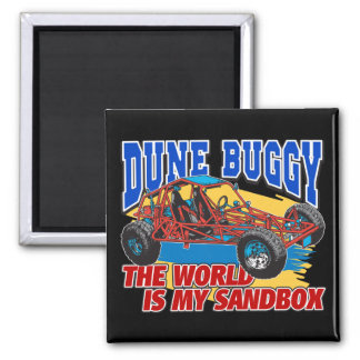 Dune Buggy Sandbox Fridge Magnets