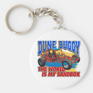 Dune Buggy Sandbox Keychain