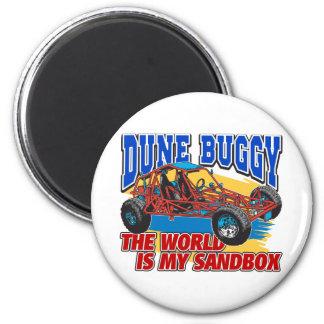 Dune Buggy Sandbox Refrigerator Magnet