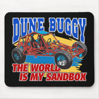 Dune Buggy Sandbox Mouse Pad