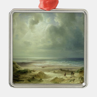 Dune by Hegoland, Tranquil Sea Christmas Ornament