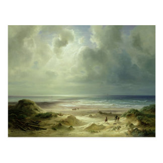 Dune by Hegoland, Tranquil Sea Postcard