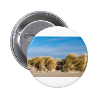 Dune on the beach of the Baltic Sea 6 Cm Round Badge