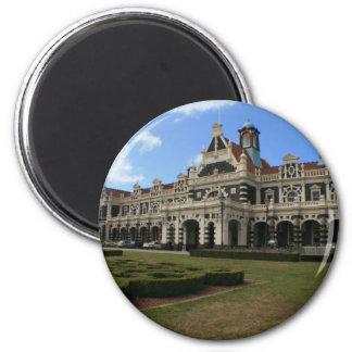 Dunedin Railway Station, New Zealand Magnet