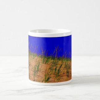 Dunes and tall grass coffee mug
