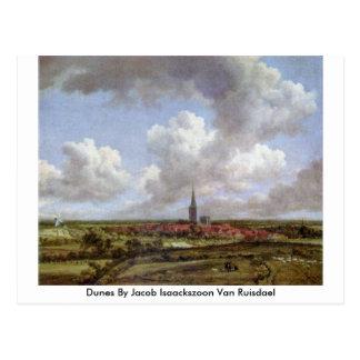 Dunes By Jacob Isaackszoon Van Ruisdael Postcard