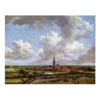 Dunes By Ruisdael Jacob Isaaksz. Van Postcards