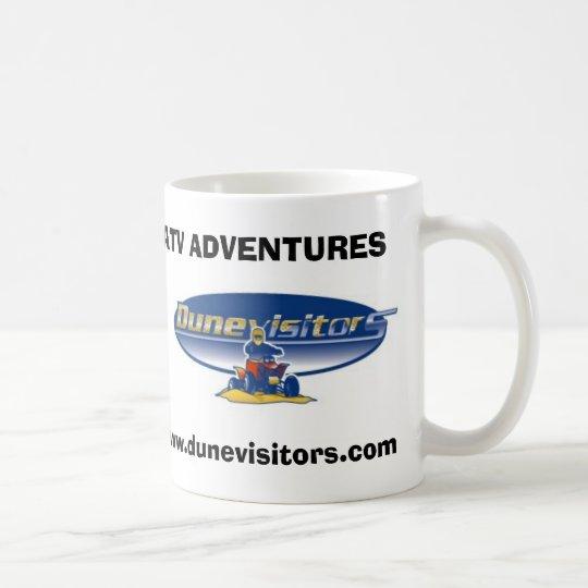 Dunevisitors logo, ATV ADVENTURES, www.dunevisi Coffee Mug