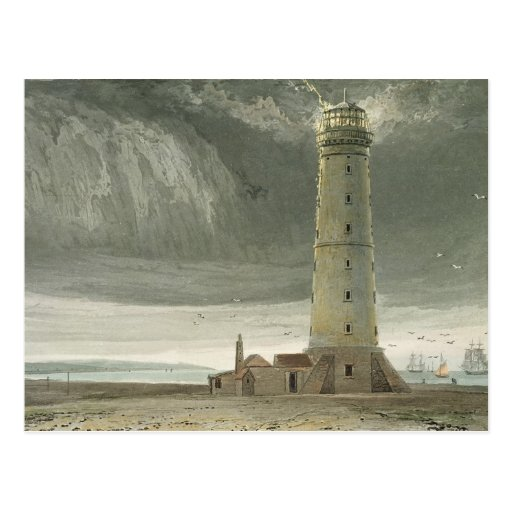Dungeness Lighthouse, from 'A Voyage Around Great Postcards