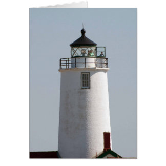Dungeness Spit Lighthouse at Sequim, WA Greeting Card