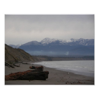 Dungeness Spit Poster
