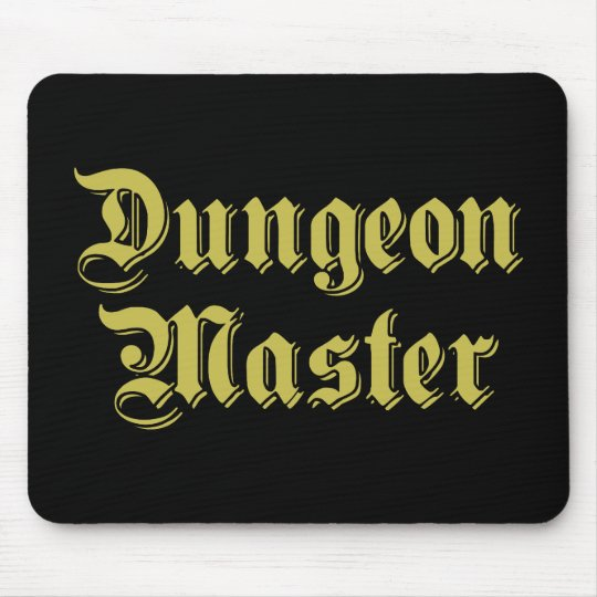 Dungeon Master Mouse Mat